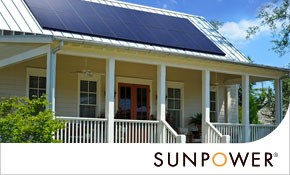 $500 for $1,000 toward SunPower Solar Panel System