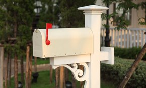 $195 for Mailbox and Post Replacement