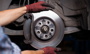 $169 for New Premium Ceramic Brake Pads, Front or Rear