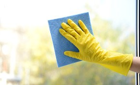 $375 for 3 hours of Interior and/or Exterior Window Cleaning, Includes 2 Hours of Gutter Cleaning