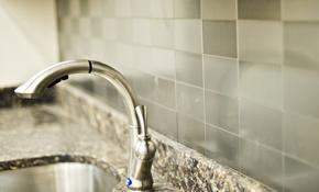 $595 for Kitchen Tile Backsplash Installation