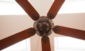 $175 to Install Up to 2 Ceiling Fans or Light Fixtures