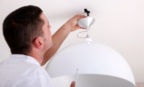 $109 for Light Fixture Replacement