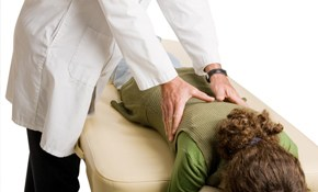 $77 for Chiropractic Exam,Treatment PLUS 1-Hour Massage!