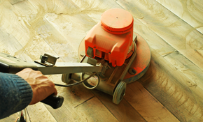 $1,250 for up to 200 Square Feet of Hardwood Floor Refinishing and Sealing