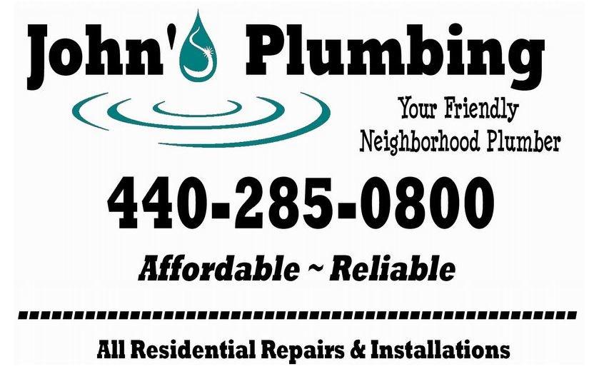 John's Plumbing logo