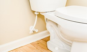 $294 for a New Toilet Installed