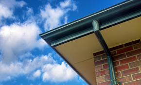$650 for 100 Feet of High-Capacity, 5-Inch Gutters or Downspouts