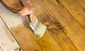 $215 for $400 Worth of Deck Maintenance-- Including Power Washing and Prep and Stain