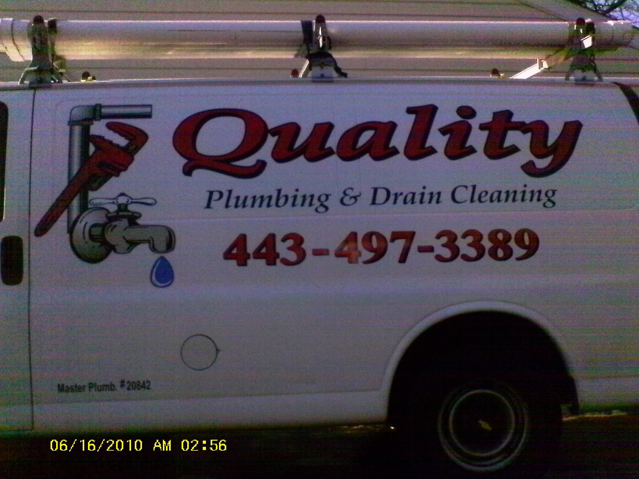Quality Plumbing & Drain Cleaning logo