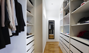 $119 for a Professional Closet Consultation