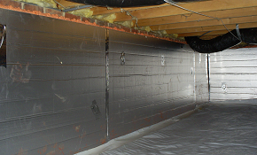 $1,800 for Crawl Space Encapsulation and Moisture Analysis