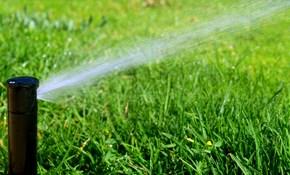 $2,995.00 for a 6-Zone Sprinkler System Installation, Including Design Consultation
