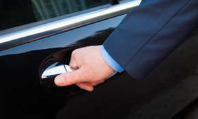 $330 for 7 Hours of Chauffeured Sedan Car Services
