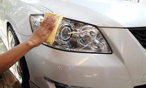 $175 for Premium Exterior Auto Detailing with Paint Touch-up