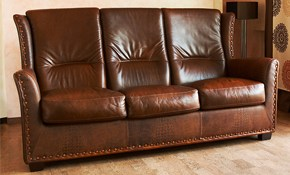 $150 for Leather Sofa and Loveseat Cleaning and Conditioning