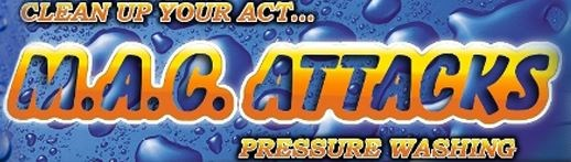 MAC ATTACKS PRESSURE WASHING logo