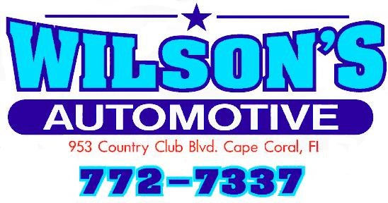 Wilson's Automotive logo