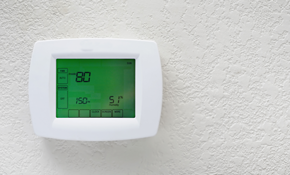 $384 for 7 Day Touch Screen Programmable Thermostat Installed