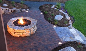 $1,260 for Delivery and Installation of Fire Pit