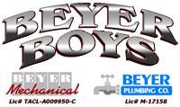 Beyer Boys A/C, Heating & Plumbing logo