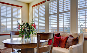 $879 for 10 Faux Wood Blinds Including Installation