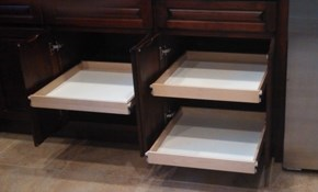 $499 for Three Custom, Slide-Out Shelves for Existing Cabinet or Pantry, Plus an In-Home Consultation