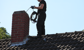 $249 for a Chimney Tune-Up Including a Level 1 Inspection, New Stainless Steel Chimney Cap, with Installation, and Chimney Cleaning