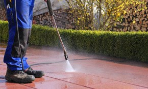 $205 for 1,000 Square Feet of Concrete Pressure Washing