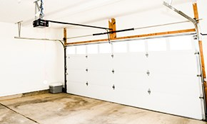 $225 for 1 Torsion Spring Replacement on Double Garage Door