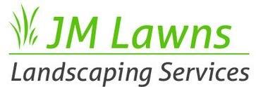 JM Lawns logo