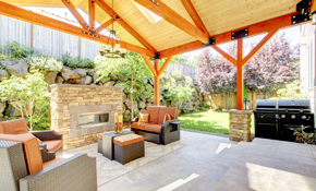$249 Outdoor Living Space Field Design to Scale