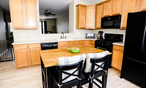 $450 for Custom Kitchen Design with Complete 3-D Perspective Drawings for You to Keep