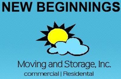 NEW BEGINNINGS MOVING & STORAGE logo