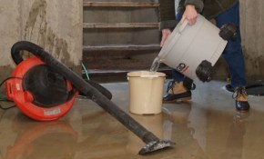 $55 for a Foundation and Basement Water Leakage Inspection!
