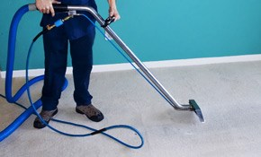 $175 Carpet Cleaning, Scotchgard, and Deodorizer for 4 Rooms