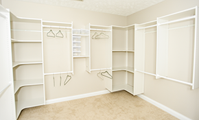 $700 for $1000 of Custom Closet, Pantry or Garage Storage Shelving