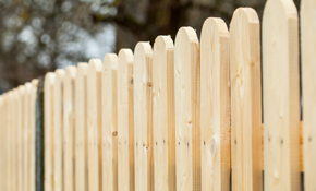 $1,850 for 100 Linear Feet of Wood Privacy Fencing