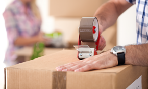 $399 for a 26-Foot Moving Truck, a Four-Person Crew for Three Hours, and 15% Off Moving Supplies