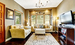 $499 for Two Rooms of Interior Painting