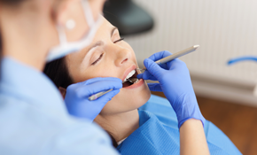 $59 For New Patient Package Including Exam, Healthy Mouth Cleaning, and Photos