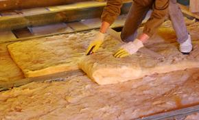 $1,000 for 1,000 Square Feet of Standard Fiberglass Insulation