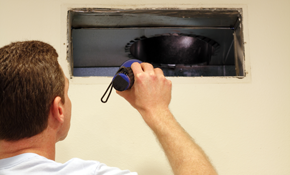 $649 Air Duct Cleaning with Unlimited Vents