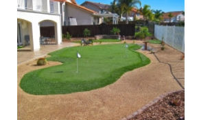 $10,000 for 500 Square Feet of Custom Polypropylene Putting Green