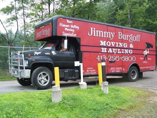 JIMMY BURGOFF MOVING logo