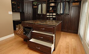 $2,500 for $3,000 Credit Toward Custom Closet and Home Office Cabinets