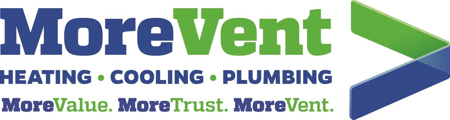 MoreVent Heating Cooling Plumbing logo