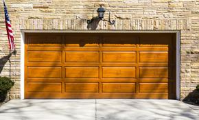 $1850 for a Single Clopay Coachman Garage Door Installed
