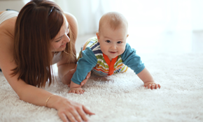 $129 for 3 Rooms of Professional Carpet Cleaning and Sanitizing, Plus a Hallway