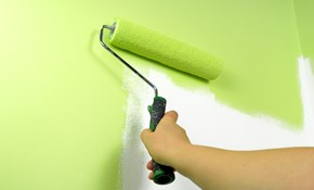 $108 for 3 Hours of Interior Trim Painting, Wallpaper Removal or Drywall Repair